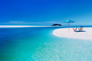 Пляж Кубы с белоснежным песком